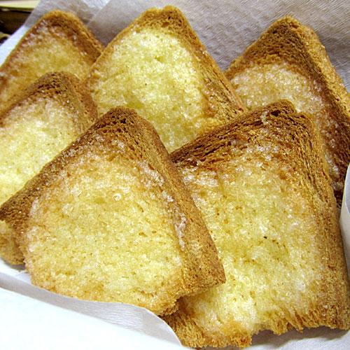 ばら酵母の食パンラスク 商品画像