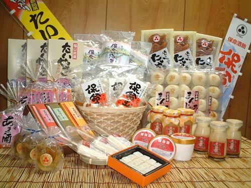 保命酒銘菓(鞆の浦特産「保命酒」を使った菓子加工品)