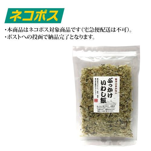 【ネコポス専用】ぶっかけいわし飯45g×1袋